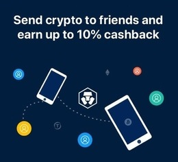 Crypto.com earn cashback sending money to friends